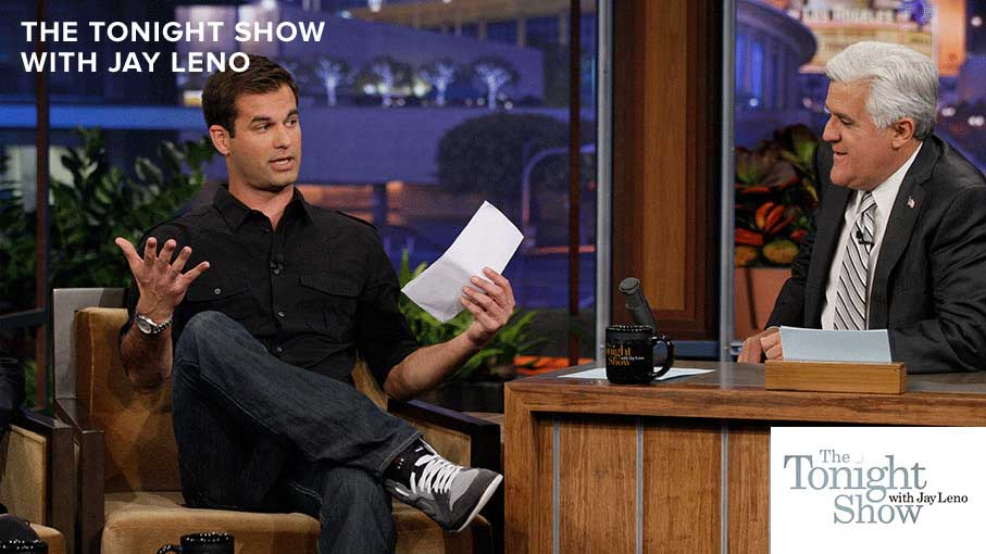 Michael Kosta on The Tonight Show with Jay Leno