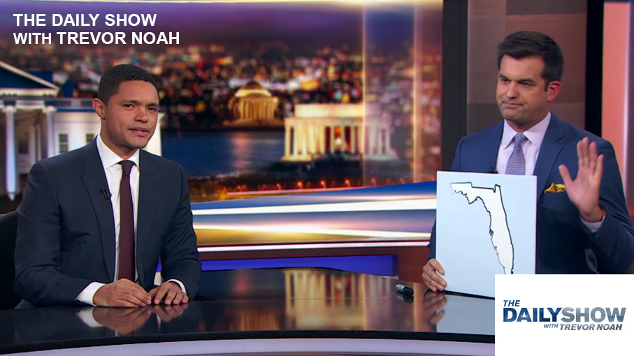 Michael Kosta on The Daily Show with Trevor Noah